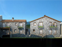 4 casas en la Roca