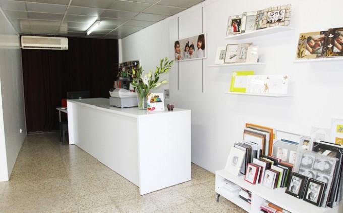 Reforma botiga i estudi de fotografia.